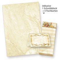 Briefbogen Marmor (1.000 Blatt) marmoriertes Papier DIN A4 90g