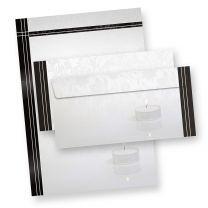 Briefpapier Trauer Set (500 Sets ohne Fenster)