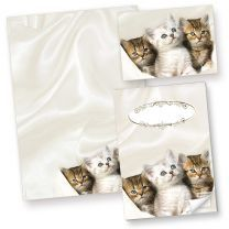 Briefpapier Katzen (50 Blatt) für Katzenliebhaber