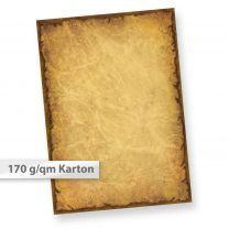 Alter Karton A4 CASANOVA (25 Blatt) z.B. für Urkunden & Einladungen