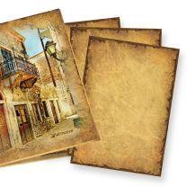 Mappe Altes Briefpapier CASANOVA (50 Blatt) altes Papier DIN A4 beidseitig