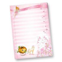 Block Briefpapier Prinzessin Rosanell (4 Blöcke)