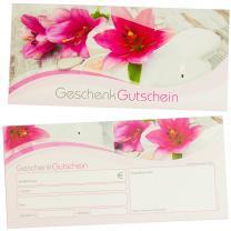 Geschenkgutscheine Beauty & Wellness (25 Stück) Gutscheine selbst ausfüllen und verkaufen