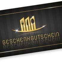 Restaurant Geschenkgutscheine (100 Stück) Gutscheine selbst ausfüllen und verkaufen