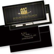 Restaurant Geschenkgutscheine (50 Stück mit Umschläge) Gutscheine selbst ausfüllen und verkaufen