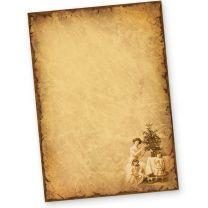 Briefpapier Weihnachten NOSTALGIE (50 Blatt)  historisch