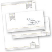 Business Design 25 Sets Briefpapier Weihnachten mit Umschläge ohne Fenster  geschäftlich