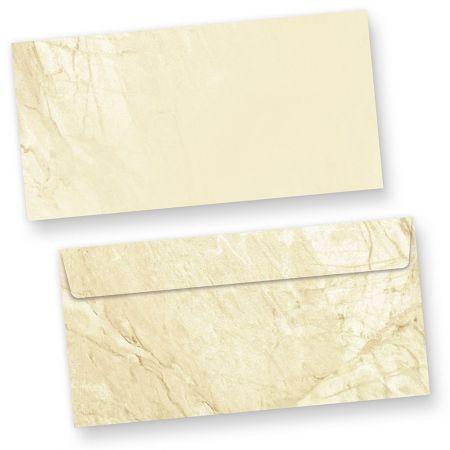 Marmor Briefumschläge Vintage (250 Stück o.F.)