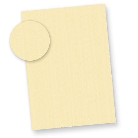 Büttenpapier Briefpapier Struktur wildgerippt elfenbein (25 Blatt) Briefpapier Bütten