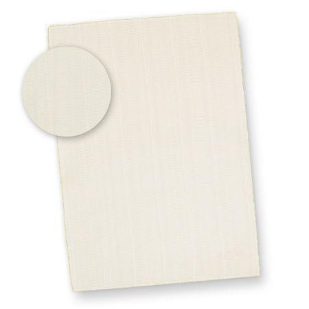 Büttenpapier Briefpapier Struktur wildgerippt (25 Blatt) Briefpapier Bütten