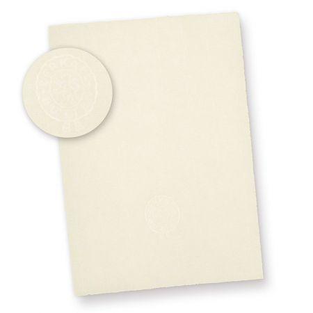 Briefpapier Bütten A4 (50 Blatt) mit Wasserzeichen ZERKALL Original Büttenpapier