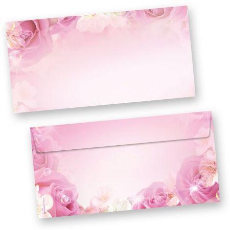 Briefumschläge Rosen (50 Stück)