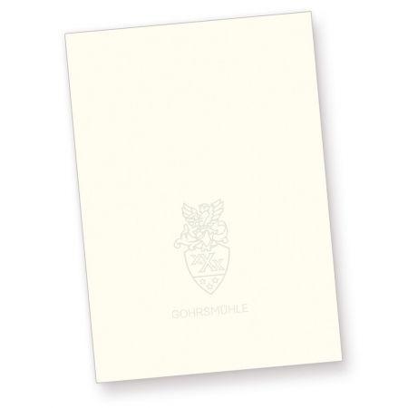 Briefpapier GOHRSMÜHLE mit Wasserzeichen (500 Blatt) DIN A4 90g