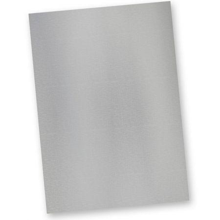 TATMOTIVE 61-0020 Briefpapier Silber EXKLUSIV DIN A4 297 x 210 mm / 120 g/qm / 20 Blatt Tonpapier