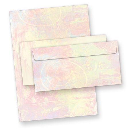Briefpapier Set Pastell (25 Sets) Künstler Hintergrund