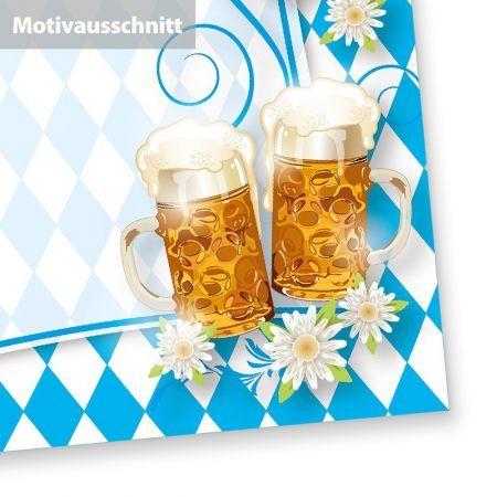Bayrisches Briefpapier A4 (50 Blatt) Motiv Bayern