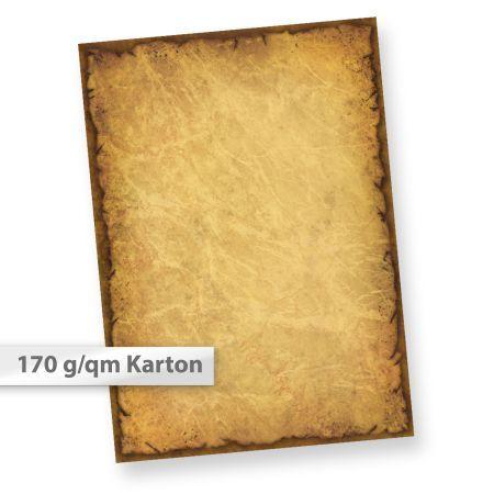 Alter Karton A4 CASANOVA (100 Blatt) z.B. für Urkunden & Einladungen