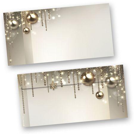Umschläge Weihnachten NOBLESSE (100 Stück ohne Fenster)