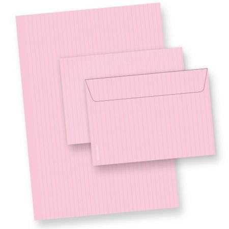 Briefpapier Set ROSA (10 Sets)