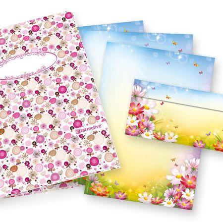 Briefpapiermappe Florentina (25 Sets) Geschenkset Mappe