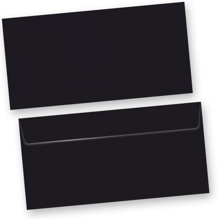 SKALA Briefumschläge Schwarz (50 Stück)