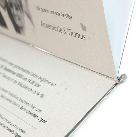 Gummibänder Silber für Klappkarten, Einladungskarten (50 Bänder) Gummischnüre