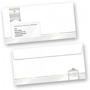 Business Design 50 Stück  Umschläge Weihnachten mit Fenster geschäftlich kaufen