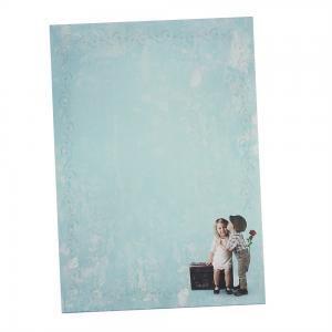 Briefpapier FIRST LOVE 20 Blatt DIN A4 90 g/qm Vintage-Motiv