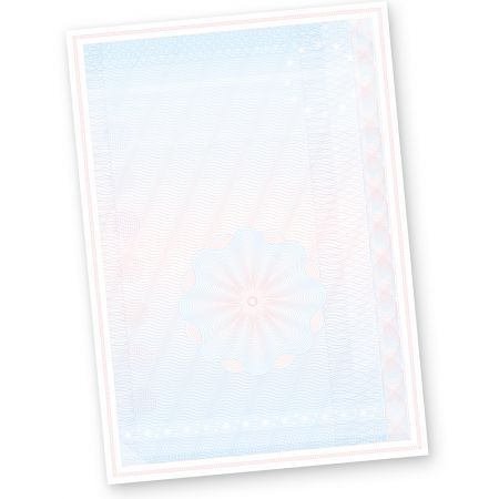 Wertpapier Briefpapier Vordrucke DIN A4 50 Blatt