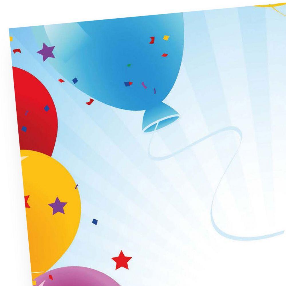 briefpapier für einladung geburtstag 50 stück din a4 motivpapier, Einladungen