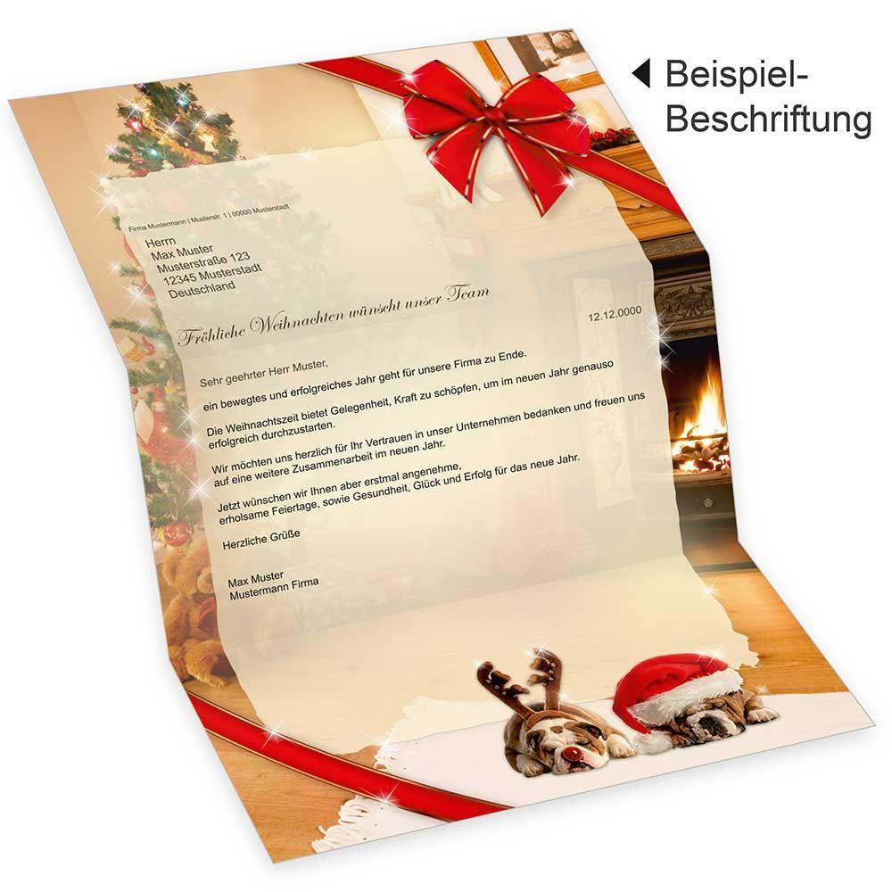 Briefpapier weihnachten 25 sets o f a4 90 g qm mit umschl ge - Weihnachtskarten text lustig ...