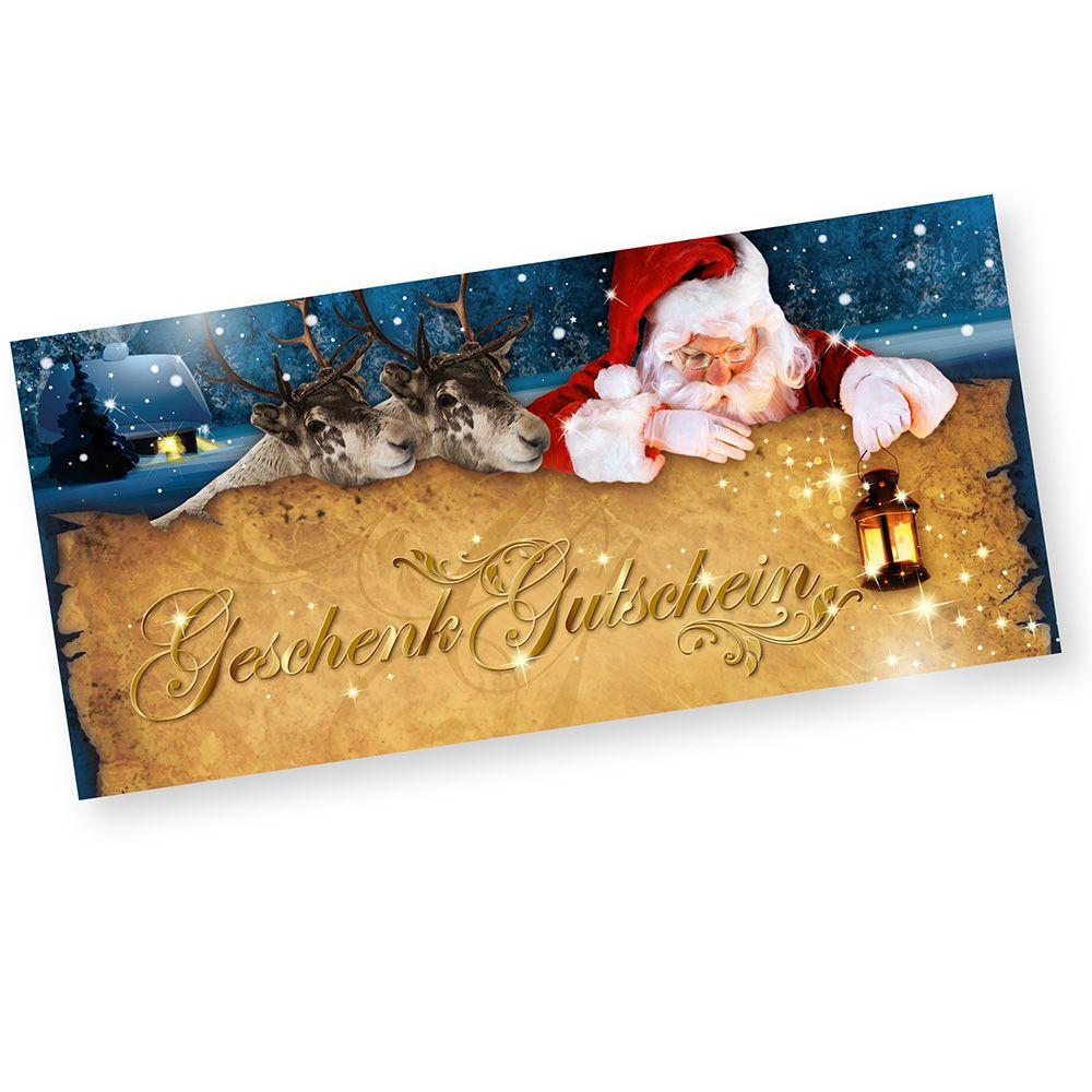 geschenkgutscheine weihnachten nordpol 1000 st ck f r. Black Bedroom Furniture Sets. Home Design Ideas