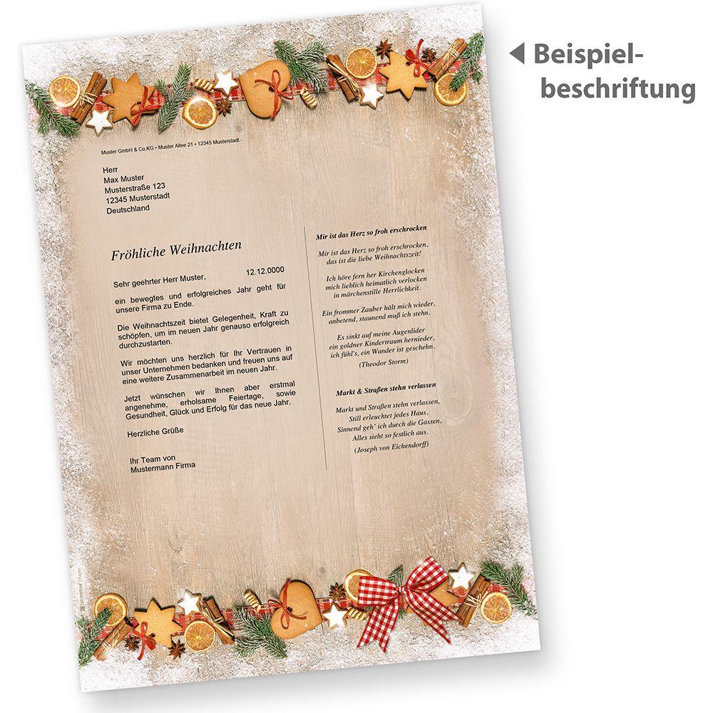 weihnachtspapier din a4 landidylle 50 blatt briefpapier weihnachten rot