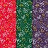 Geschenkpapier Mix Weihnachten 3 x 4 = 12 Bogen Weihnachtspapier Bogen DIN A2 (gefalzt geliefert auf DIN A4)