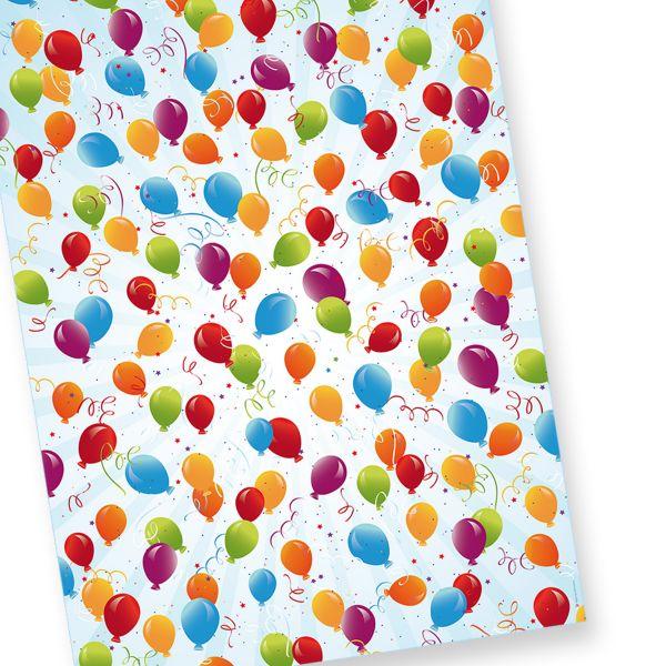 Geburtstag Geschenkpapier (25 Bogen)