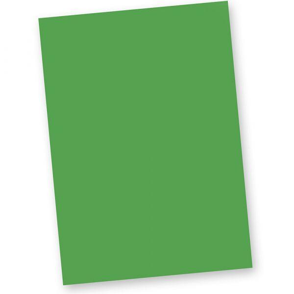 Briefpapier Grün (20 Blatt) DIN A4 120g Tonpapier Bastelpapier