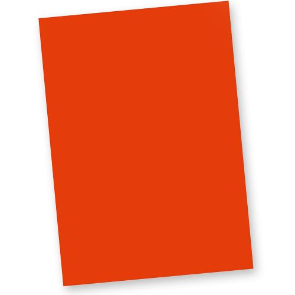 Briefpapier Rot (20 Blatt) DIN A4 120g Tonpapier Bastelpapier