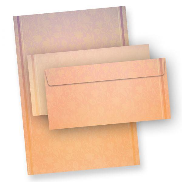 Briefpapier HARMONIE (100 Sets mit Umschläge)