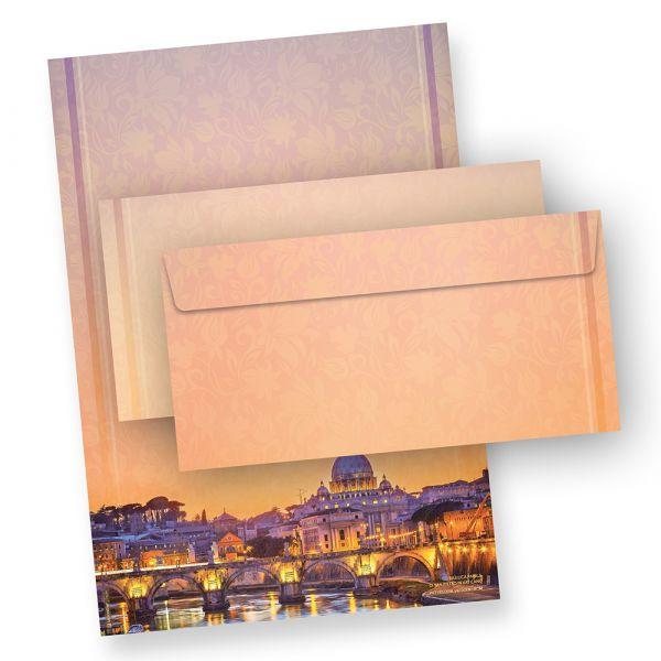 Briefpapier Petersdom Rom (100 Sets mit Umschläge)