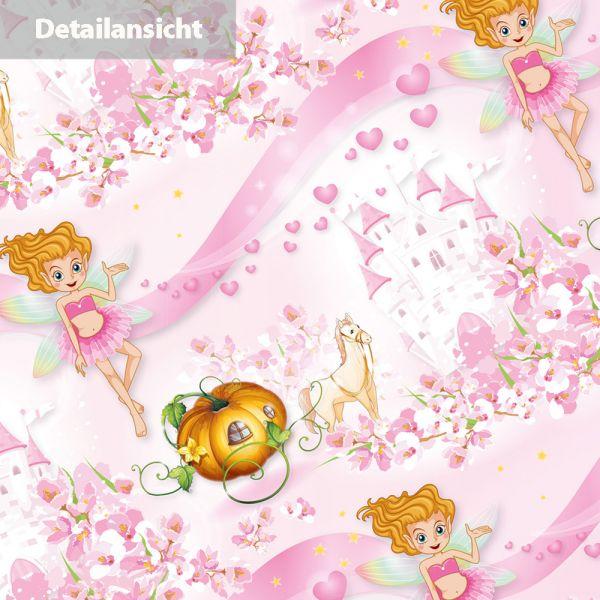 TATMOTIVE  ROSANELL Geschenkpapier Geburtstag (10+3 Bogen extra) AKTION JETZT 30% MEHR, Bogen 50 x 70 cm für Mädchen Prinzessin Kinder