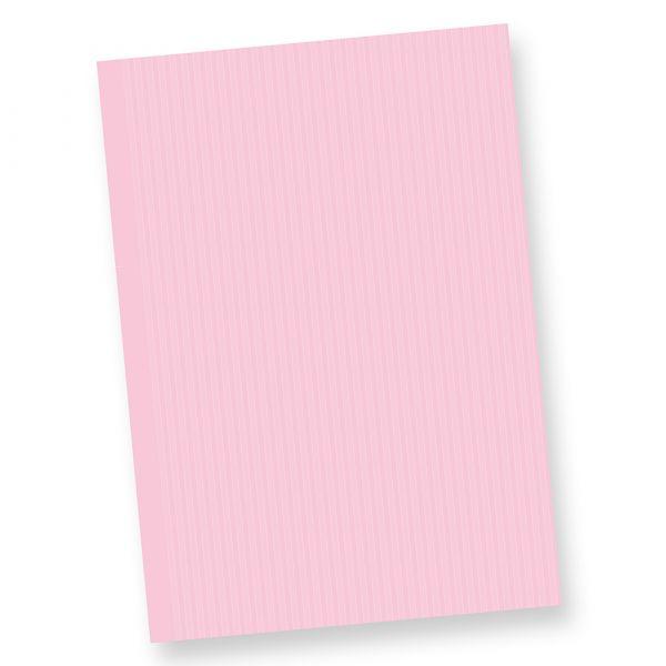 Briefpapier ROSA (500 Blatt) DIN A4 beidseitig in feinem Nadelstreifen-Design