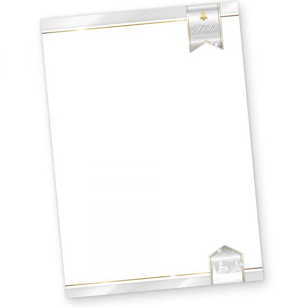 Business Design 50 Blatt Briefpapier Weihnachten geschäftlich kaufen