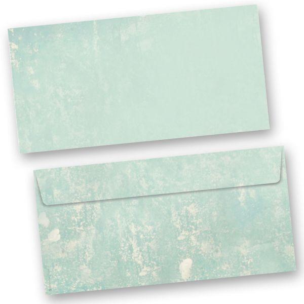 Briefumschläge Retro-Türkis  (50 Stück)