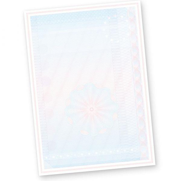 Wertpapier Briefpapier Vordrucke DIN A4 100 Blatt