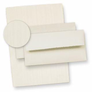 Edles Büttenpapier Set wildgerippt (24-tlg) 14 Bütten Briefpapiere 115 g/qm ca. DIN A4 210 x 290 mm, inkl. 10  hochwertig, gefütterte Büttenumschläge