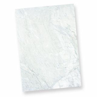 Briefpapier marmoriert grau-blau (50 Stück) Beidseitiges Strukturpapier Granit Marmor, DIN A4, auch als Flyer verwendbar