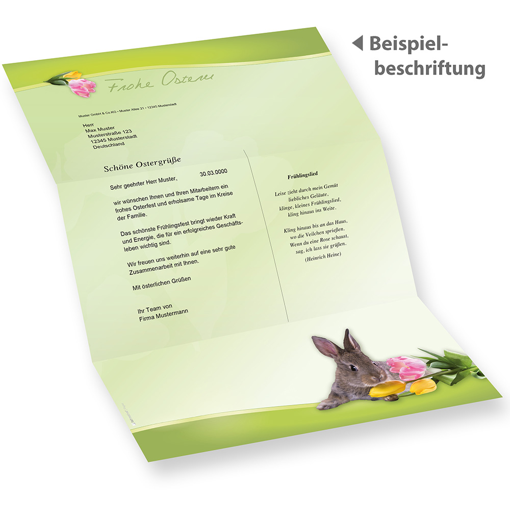 Brief Vom Osterhasen