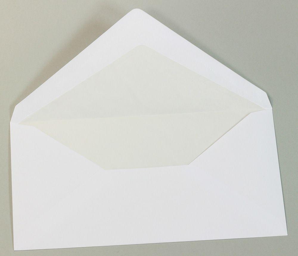 Gohrsmühle Briefumschläge 50 Stück hochwertig gefüttert mit Seidenfutter