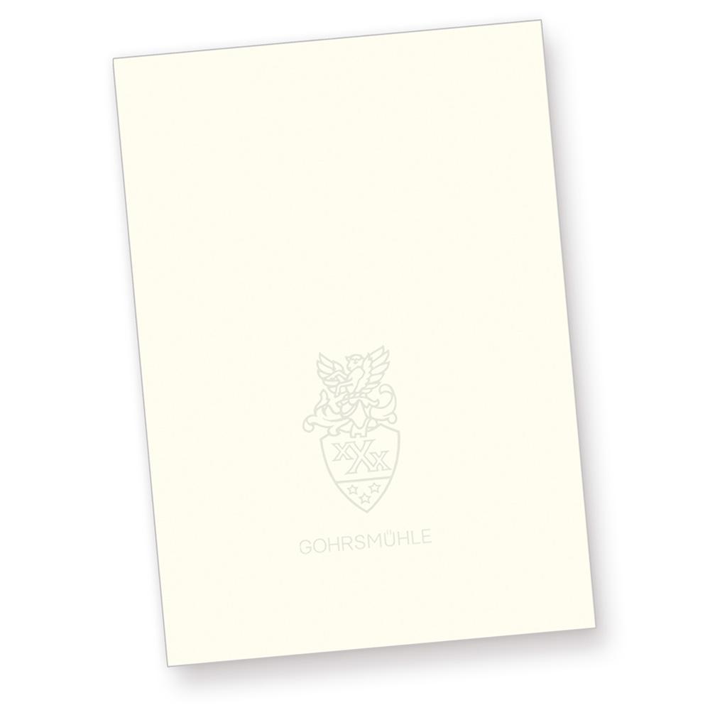 Gohrsmühle Briefpapier edel 500 Blatt mit Wasserzeichen 90 g