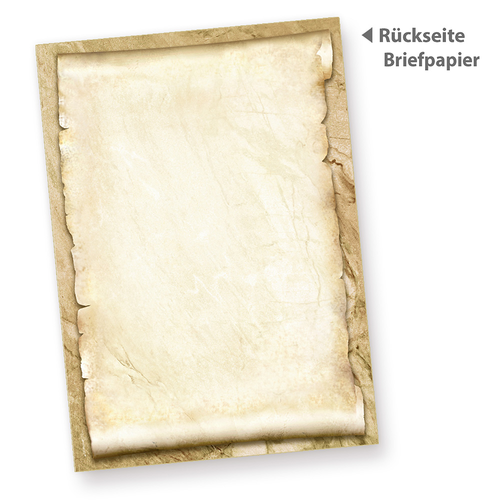 DIN A4 Format 250 Blatt Motiv-Briefpapier ROTE ROSE
